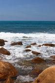 Stony seashore — Stock Photo