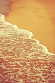 Wave and sand — Foto Stock