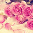 Pink roses — Stock Photo #50203715