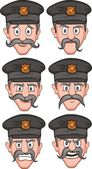 Police Expression — Stock Vector