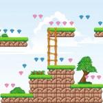 ������, ������: 2D Tileset Platform Game 2