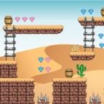 ������, ������: 2D Tileset Platform Game 9