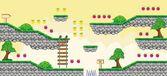 2D Tileset Platform Game 6 — Stock Vector