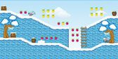 2D Tileset Platform Game 14 — Stock Vector