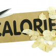 Stock Photo: Cut calories