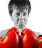 Kid Boxer — Stock Photo