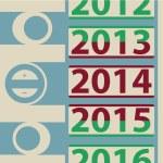 Calendar 2014 year — Stock Photo #37796705