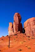 The Thumb, Monument Valley National Park — Stock Photo