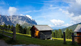 Val di Funes Alto Adige — Stock Photo