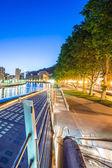Night view of Bilbao — Foto Stock