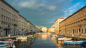 Ponte Rosso view in Trieste — Stock Photo
