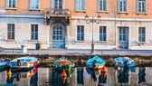 Ponte Rosso view in Trieste — Stock Photo