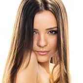 Beauty Model Woman Face. — Stock Photo