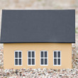 Stock Photo: Model of a house