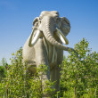 Prehistoric elephant — Stock Photo #38084545