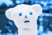 Uomo di neve — Foto Stock