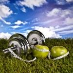 fitness i zdrowia — Zdjęcie stockowe #38806135