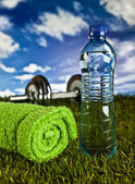 Fitness and health — Stock Photo