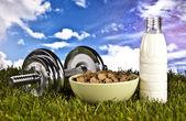 Fitness i zdrowia — Zdjęcie stockowe