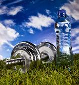 Fitness e salute — Foto Stock
