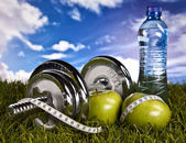 Fitness and health — Foto de Stock