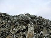 Scrap mountain — Stockfoto