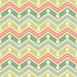 Zigzag vector seamless pattern. — Stock Vector