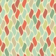 Colorful scales tiles vector seamless pattern. — Stock Vector
