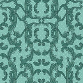 Baroque style vector seamless pattern. — Stock Vector
