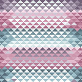 Colorful triangle tiles seamless vector pattern. — ストックベクタ
