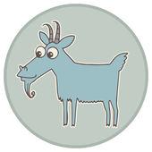 Chinese zodiac animal vector illustration. — Stock Vector