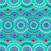 抽象的な幾何学的なベクトルのシームレスなパターン. — ストックベクタ