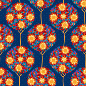Floral vector seamless pattern. — Stock Vector