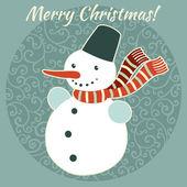 Christmas,New Year character illustration. — Stock vektor