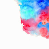 Abstract watercolor-style vector background. — Stock Vector