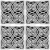Celtic style decoration vector pattern. — Vecteur