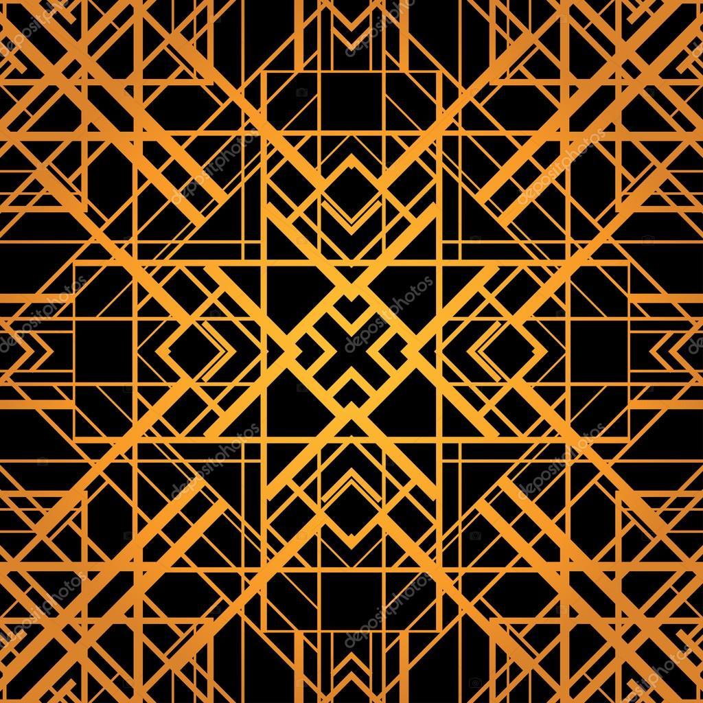motif g om trique du vecteur style art d co image vectorielle mazeina 38094455. Black Bedroom Furniture Sets. Home Design Ideas