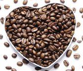 Coffe heart — Stock Photo