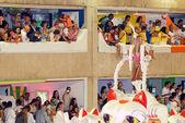 Carnaval loco en rio de janeiro — Foto de Stock