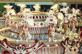 Galen karneval i rio de janeiro — Stockfoto