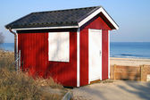 Hütte am Meer — Stock Photo