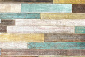 Vintage colorful wooden planks — Stock Photo