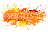 August. — Stock Photo