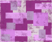 Vintage violet patchwork — 图库照片