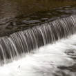 Small weir on riverine — Stock Photo #41926977
