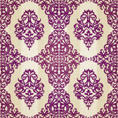Seamless pattern with swirls motifs — Stock Vector