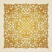 Baroque ornament in Victorian style — Stock Vector