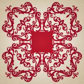 Baroque ornament — Stock Vector