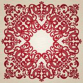 バロック式の装飾 — ストックベクタ
