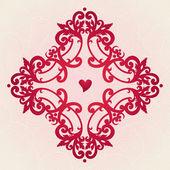 矢量巴洛克式点缀在维多利亚时代的风格. — 图库矢量图片